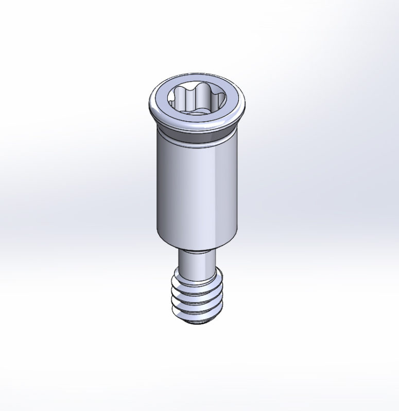 CAD Render of Replacement RC Screw